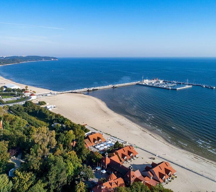 polnische-Ostsee-bei-Sopot