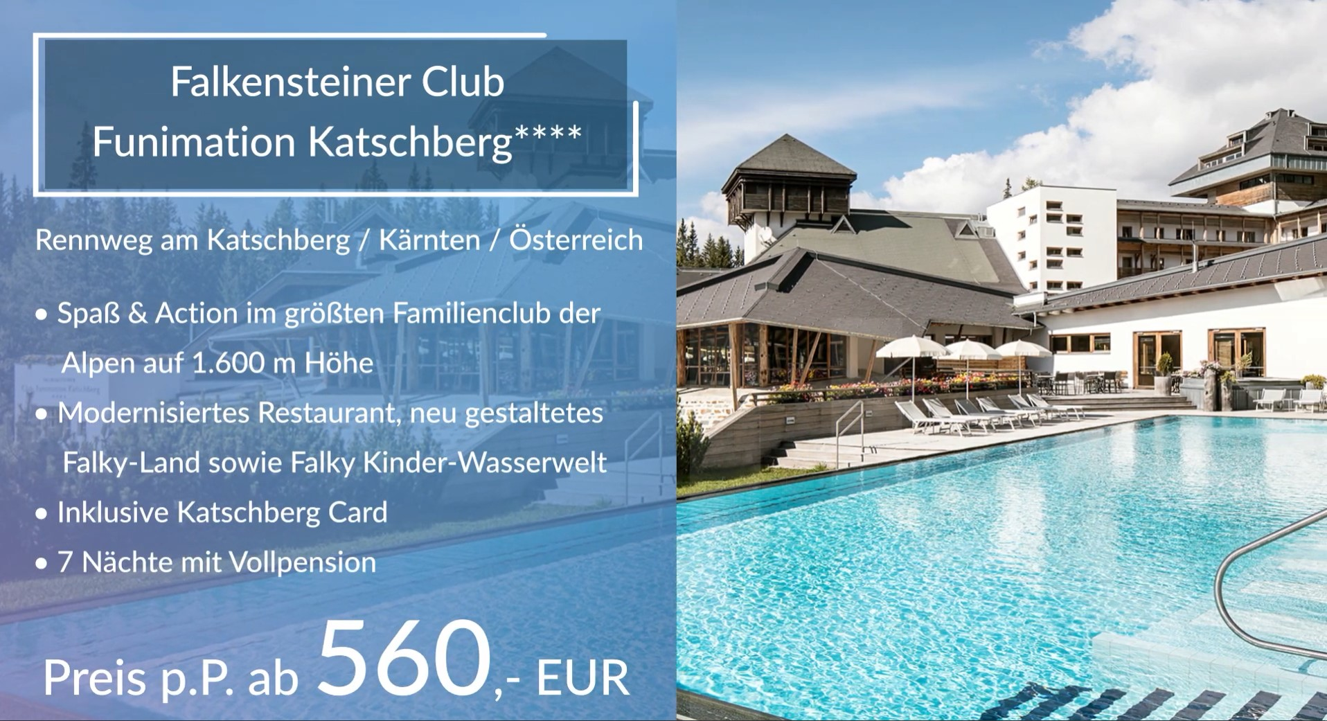 WELCOME HOME! FALKENSTEINER HOTELS & RESIDENCES – powered by TraveLeague